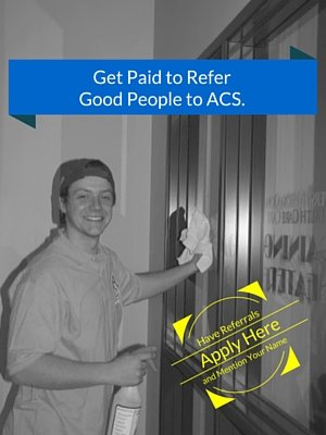 Get Paid to Refer Good People to ACS