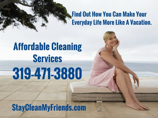 CALL AFFORDABLE CLEANING SERVICES 319-471-3880