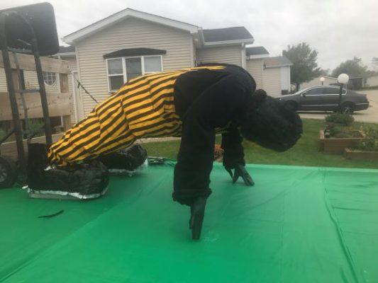 Hawkeye push ups